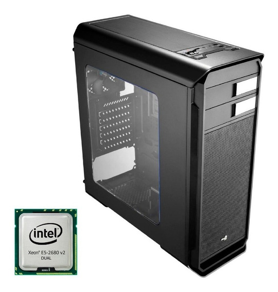 Workstation Intel Dual Xeon 2680v2 + 32gb Ram - Emitmos Nfe