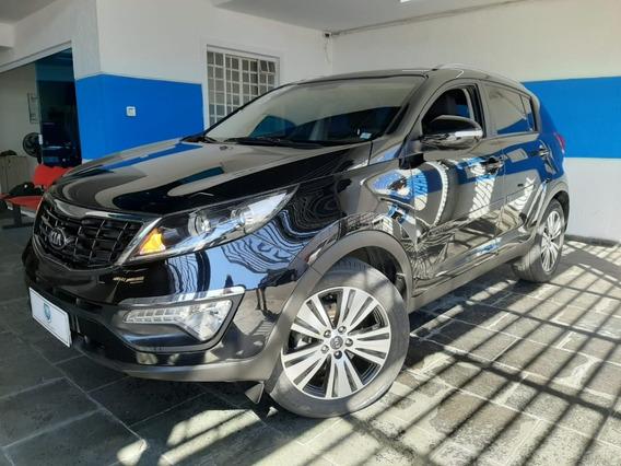 Kia Sportage Lx 2.0 Flex Automatica 2015 Preta