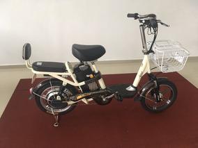 Bike Eletrica Aima Cor Cafe E Branca