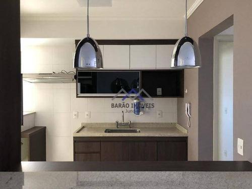 Imagem 1 de 23 de Apartamento Com 2 Dormitórios À Venda, 73 M² Por R$ 480.000,00 - Engordadouro - Jundiaí/sp - Ap0330