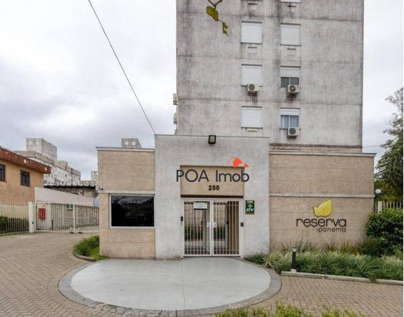 Apartamento Com 2 Dormitórios Para Alugar, 47 M² Por R$ 1.200/mês - Ipanema - Porto Alegre/rs - Ap2917