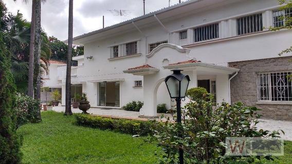 Casa Residencial Para Venda E Locação, Jardim Paulista, São Paulo - So0025. - Ca0065