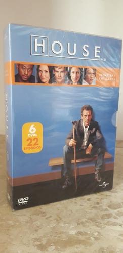 Box House: 6 Dvds Primeira Temporada - Lacrado - Oferta