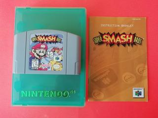 Super Smash Bros 64 Nintendo 64 Con Manual
