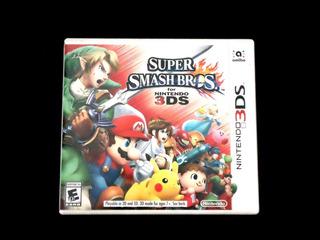 ¡¡¡ Super Smash Bros Para Nintendo 3ds !!!