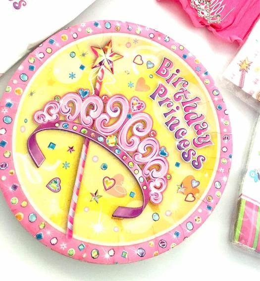 Set Cumpleaños Niña Princesa Cotillón No Globo Piñata