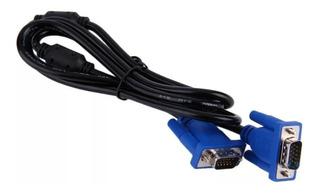 Cable Vga A Vga Macho / Macho 1.5 Metros Laptop Pc Proyector