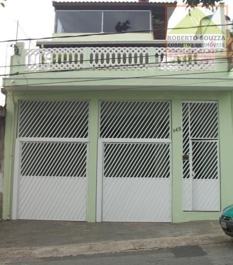 Sobrado Para Venda Em São Paulo, Jardim Lajeado, 3 Dormitórios, 1 Banheiro, 2 Vagas - 00340