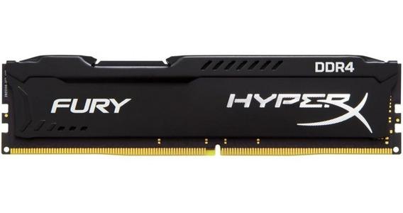 Memória Hyperx Fury 16gb Ddr4 2400mhz Cl15 Preto C/nf-e
