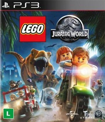 Jogo Lego Jurassic World Ps3 Digital Dublado