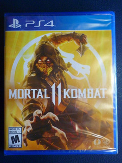 Playstation 4 Ps4 Mortal Kombat 11 Mk11 Nuevo