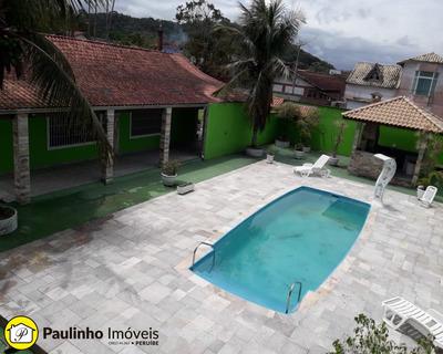 Casa Em Peruíbe Locação Definitiva Com Piscina - Ca03115 - 33660135