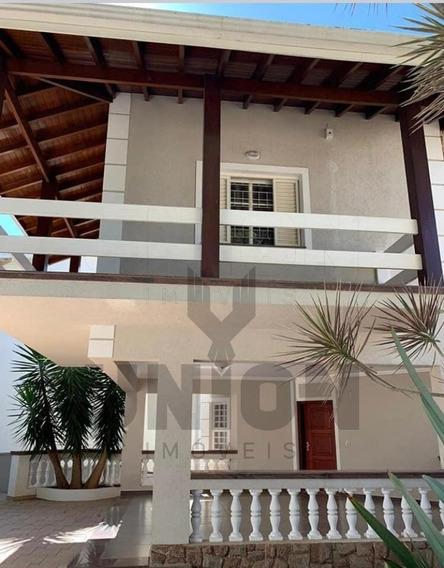 Casa Alto Padrão Para Locação Em Bairro Nobre, Jardim Panorama Em Vinhedo/sp - Ca00035 - 68142761