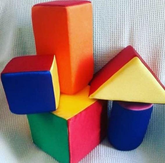Kit Bloques Didacticos - Cubo Goma Espuma