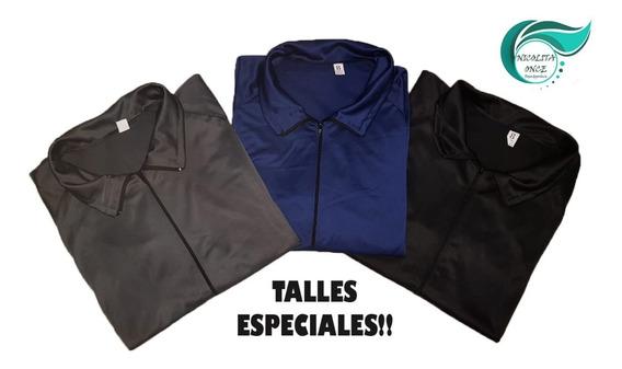 Camperas Acetato Deportivas Talles Especiales 8 9 Y 10