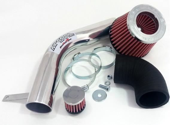 Kit Intake Air Cool Filtro Esportivo Corsa Montana Prisma Vm
