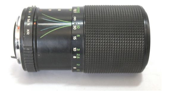 Lente Tron 70-210mm Retro Coleção Retirada Peça Sucata