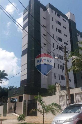 Excelente Apartamento Com 3 Dormitórios, Com Closet E Projetados À Venda, 100 M² - Candelária - Natal/rn - Ap0010