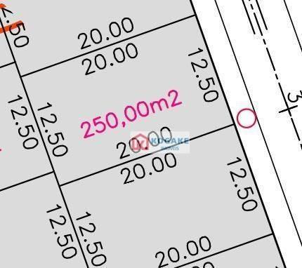 Imagem 1 de 1 de Terreno À Venda, 250 M² Por R$ 282.750,00 - Putim - São José Dos Campos/sp - Te1656