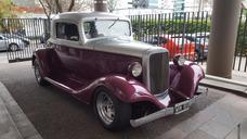 Cupe Chevrolet 1933 3 Ventanas Hot Rod