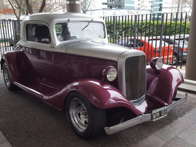 Cupe Chevrolet 1933 3 Ventanas Hot Rod