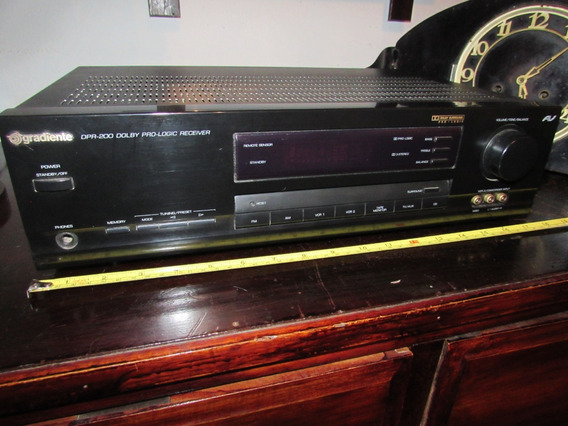 Receiver Home Theater Gradiente Dolby Pro Logic 350watts! !