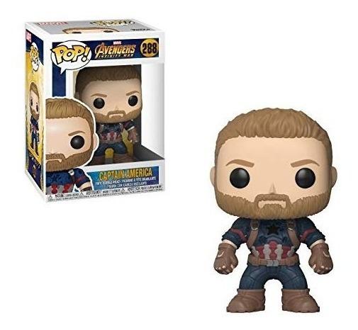 Funko Pop Capitán America, Marvel Infinity War 288