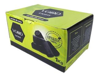 10kg Vgod Light Carvão Coco Narguilé Atacado