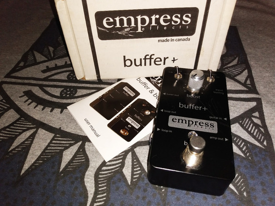 Pedal Empress Buffer+ Plus - Booster, Noise Filter E Loop