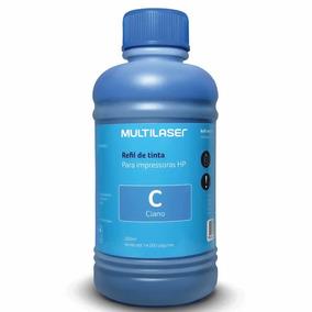 Refil De Tinta Para Impressoras Hp 205ml Ciano Multilaser -