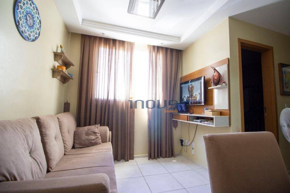 Apartamento Com 2 Dormitórios À Venda, 46 M² Por R$ 175.000 - Maraponga - Fortaleza/ce - Ap0823