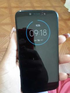Telefone Moto G7 Play Com 4 Meses De Uso Com Nota Fiscal E S
