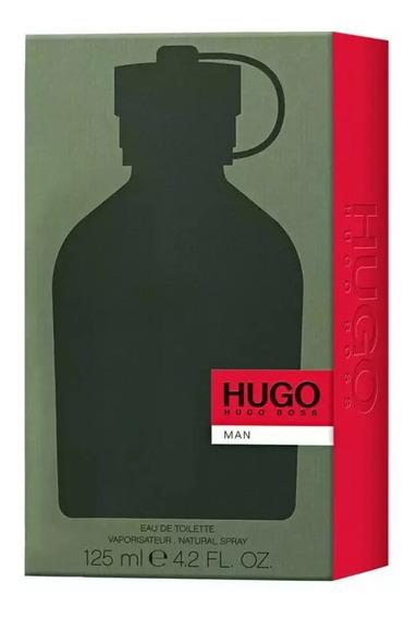 Perfume Hugo Boss Man Verde 125 Ml Eau De Toilette Original
