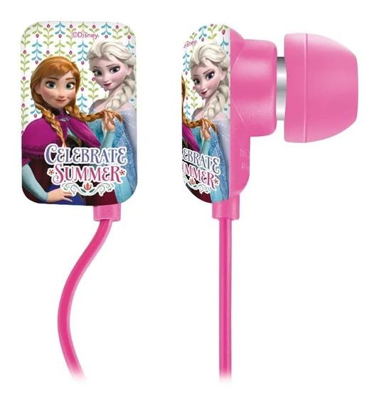 Fone De Ouvido Infantil Disney Frozen Elsa Anna Universal