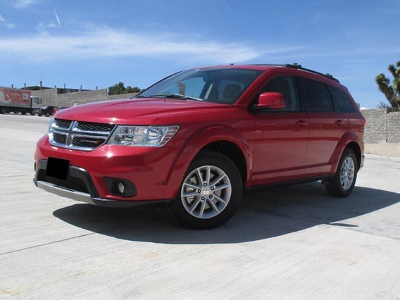 Dodge Journey Sxt Ta 2015 Rojo