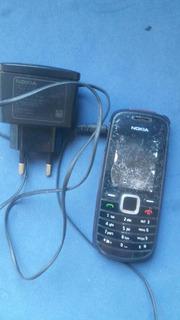 Celular Nokia Rh 122 Trincado Mas Funciona Com Carregador