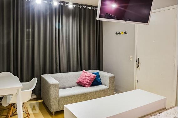 Apartamento Para Aluguel - Menino Deus, 1 Quarto, 28 - 893068209