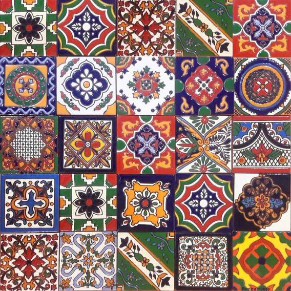 40 Azulejos Relieve De 10x10 En Veinte Diseños