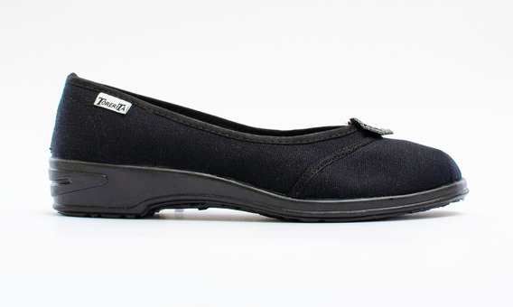Zapatillas Chatitas Torerita Dama Lona C1508
