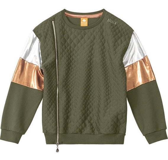 Blusão Lilica Ripilica Metalizado Infantil - 10111084i