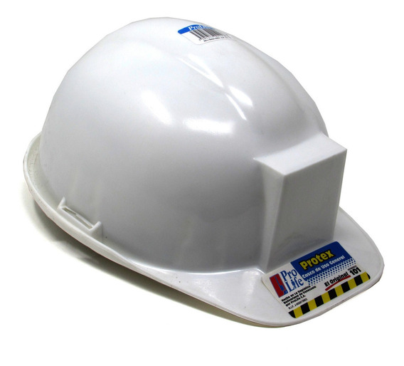 Casco De Seguridad Blanco Marca Prolife