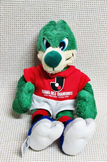Boneco Mascote Urawa Red Futebol Japão Pelucia 32 Cm Bau