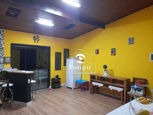 Imagem 1 de 18 de Sobrado À Venda, 244 M² Por R$ 950.000,01 - Vila Valparaíso - Santo André/sp - So3797