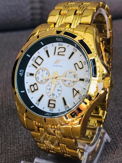 10x Relógio Masculino Potenzia Atacado Revenda Barato + Cx