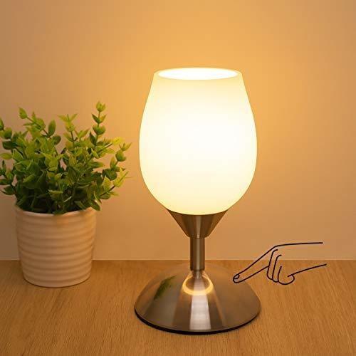 Lampara De Mesa De Control Tactil Regulable Boncoo, Lampa
