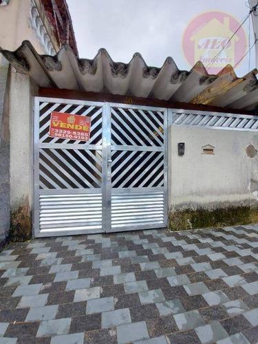 Casa À Venda, 76 M² Por R$ 350.000,00 - Vila Guilhermina - Praia Grande/sp - Ca0185