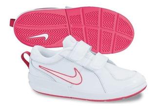 Tenis Nike Niña Color Blanco-rosa Del 15 Al 22 Cm Disponibles