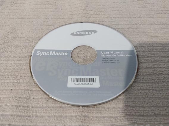 Cd - Syncmaster - Instalação De Monitor Driver E Manual