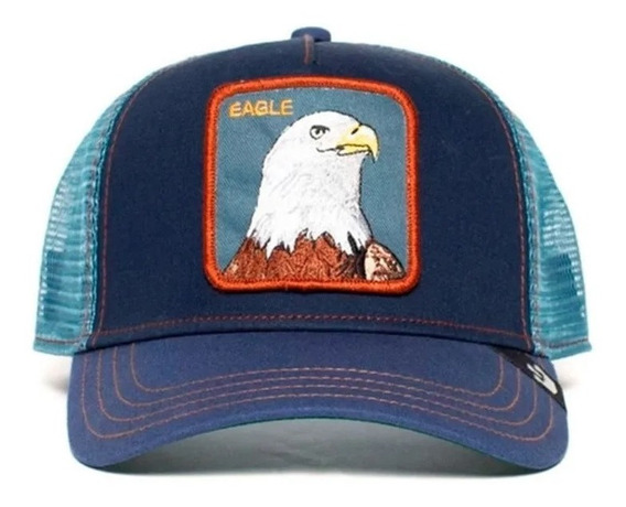 Gorra Goorin Bros Flying Eagle Azul Celeste Unisex