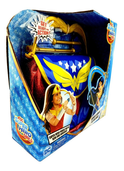 Wonder Woman Arcon Flechas Dc Super Hero Girls Jakks Pacific